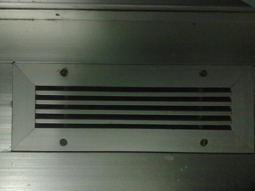 Steel air vent