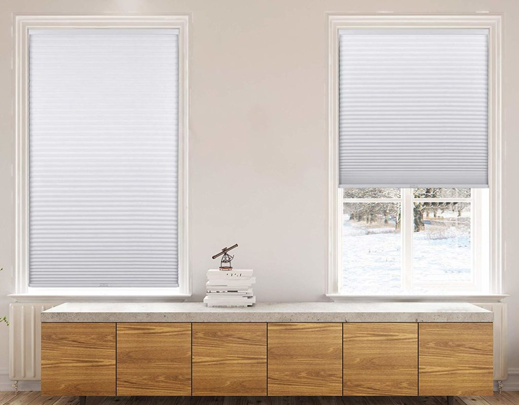 Calyx Interiors cordless cellular shade - noise reducing