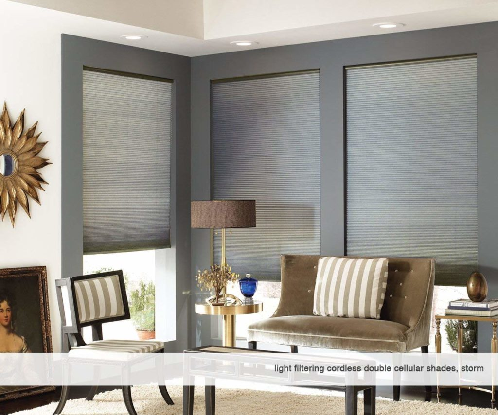 First Rate Blinds - Cordless Double Cell Blinds